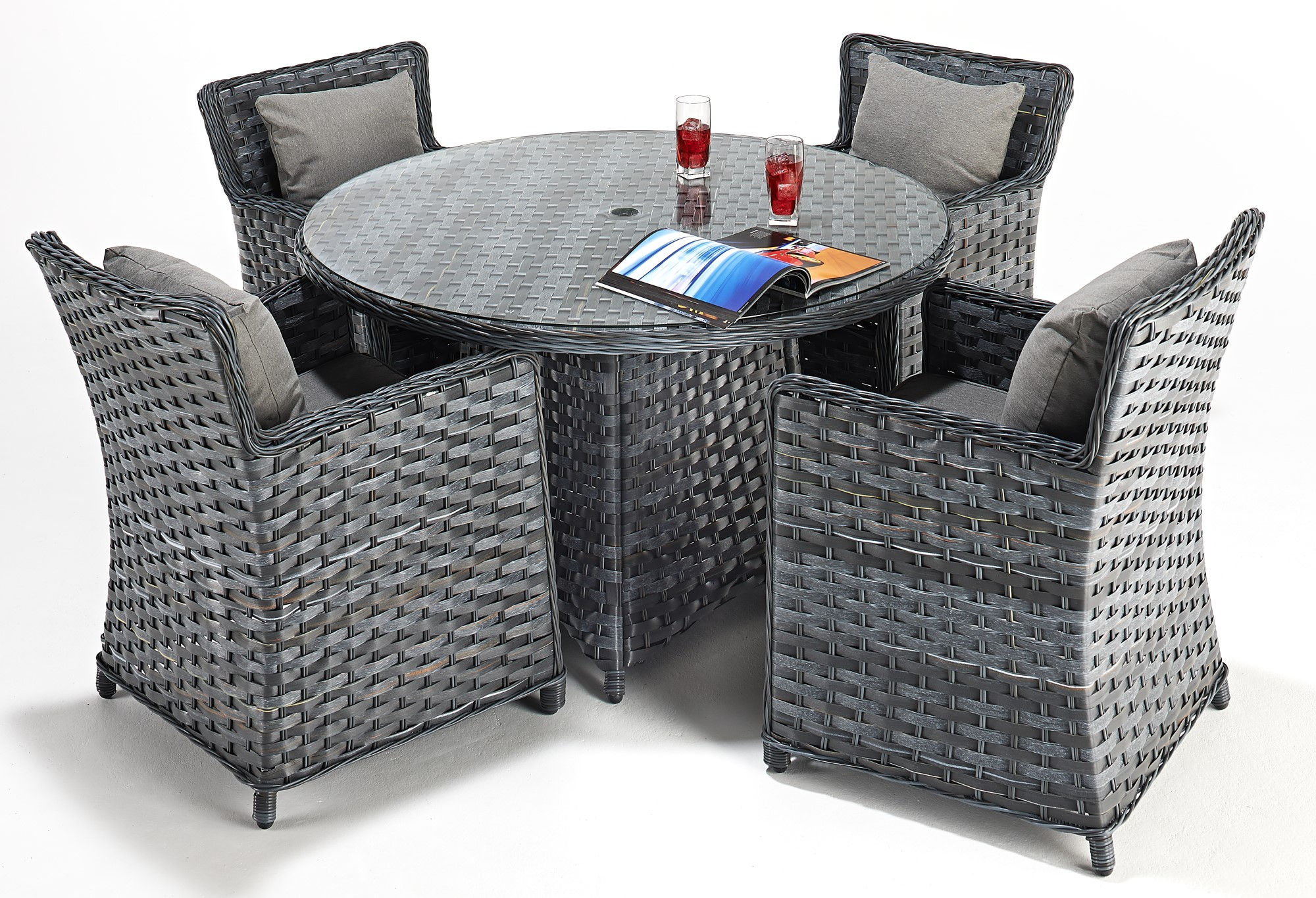 Sophia Distinction 4 Seat Dining Set