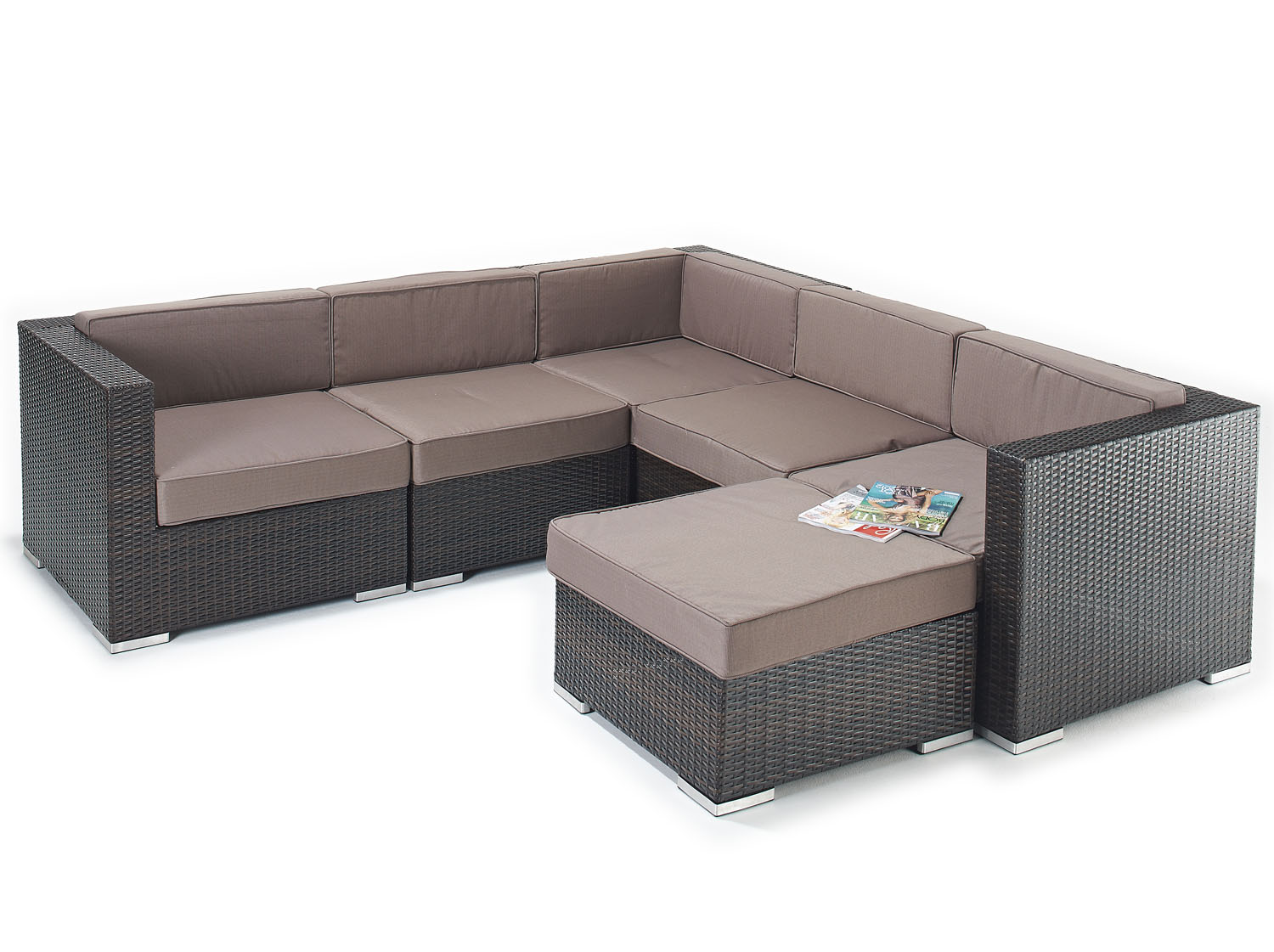 elegant rattan corner sofa set jessica all weather rattan garden furniture. Black Bedroom Furniture Sets. Home Design Ideas