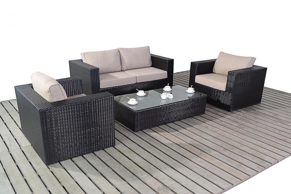 Ella - Rattan Sofa Set - All Weather Rattan Garden Furniture