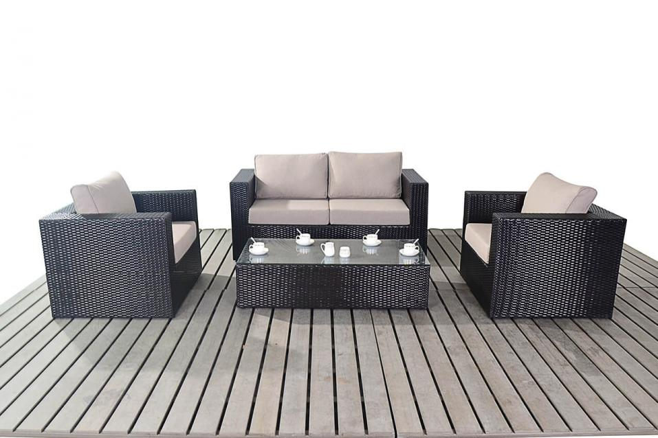 Ella Home Sofa ~ Ella rattan sofa set all weather garden furniture